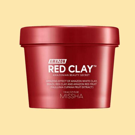Amazon Red Clay™ Pórusösszehúzó Maszk Vörös Agyaggal 110ml