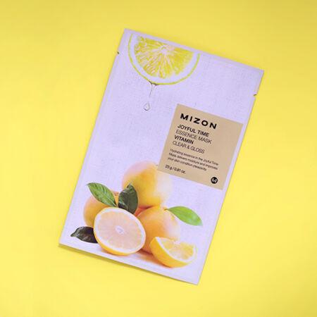 Joyful Time Tisztító és Fényesítő Arcmaszk C-Vitaminnal