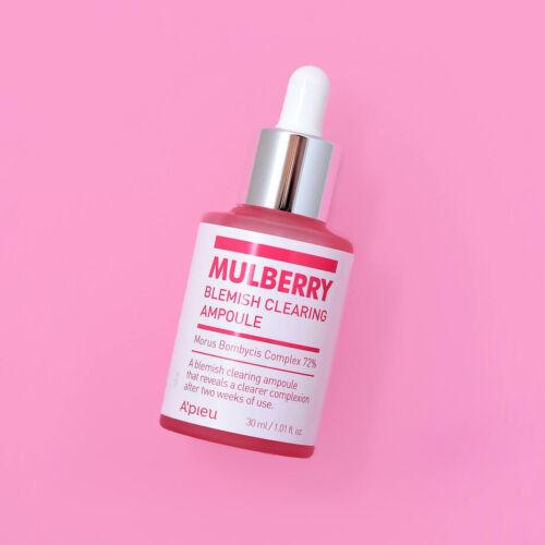 Folthalványító ampulla, mely 72% eperfa komplex-szel segít halványítani és akár megszüntetni a hiperpigmentációt és támogatja a természetes bőr barriert.