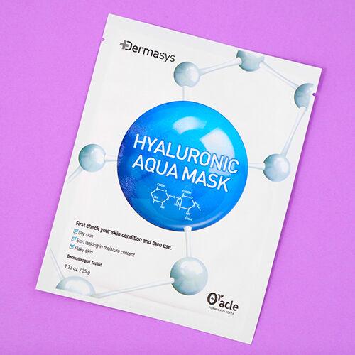 Dermasys Hyaluronic Aqua Fátyolmaszk (1db)
