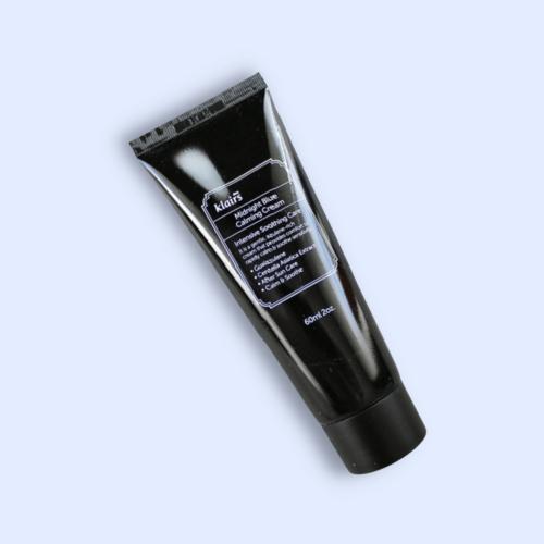 Ultranyugtató és gyulladáscsökkentő hatású hidratálókrém azulénnel és ázsiai gázló kivonattal a bőrirritáció, sérült bőrvédőréteg és a pattanásos bőr ápolására.